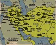 نقشه ی ایران قدیم